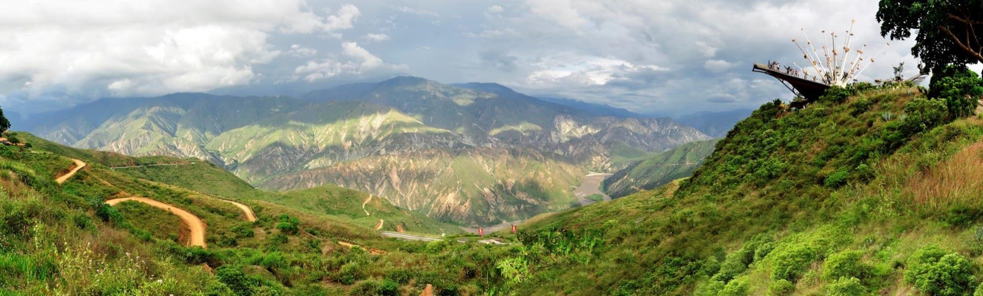 ZAIA Travel Explore Colombian Coffee and Nature Bogota Colombia Cañon de Chicamocha