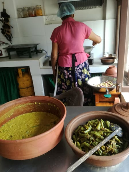 Sthree Cafe Cooking Curries with Local Sri Lankan Women Kandy Sri Lanka undefined