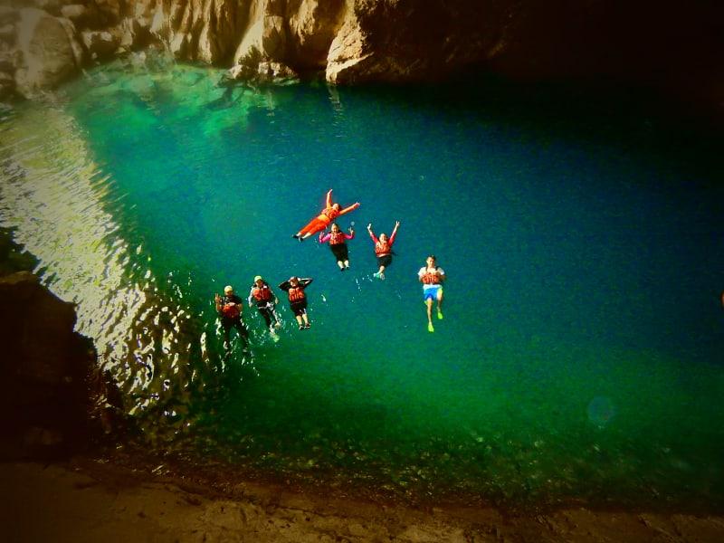 Ruta Huasteca  Huasteca Potosina Nature Adventure Ciudad Valles Mexico Amazing pool at Puente de Dios!