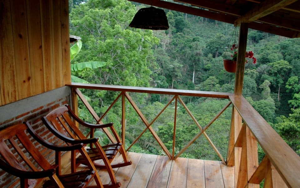 Matagalpa Tours A Paradise in the Mountains of Northern Nicaragua Matagalpa Nicaragua View from La Bastilla Ecolodge