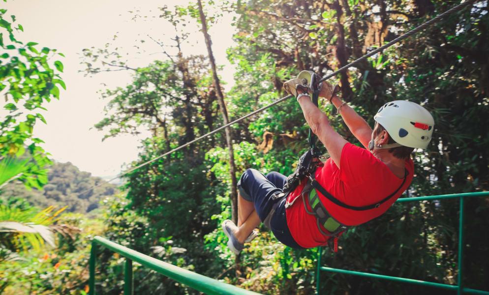 Sky Adventures Sky Trek Ultimate Zip Lining La Fortuna Costa Rica null