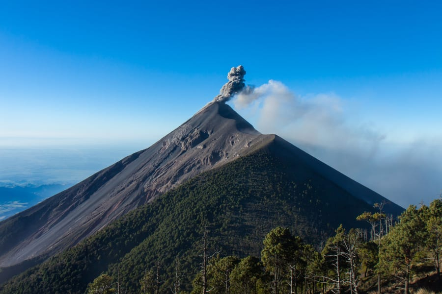 Etnica Volcano and Jungle Trekking Antigua to Acatenango to El Petén Guatemala undefined