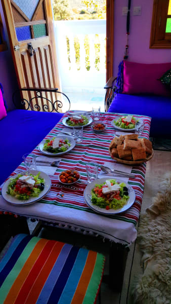 Ecotourisme Randonnees Chefchaouen Gite Talassemtane Guesthouse Chefchaouen Morocco undefined
