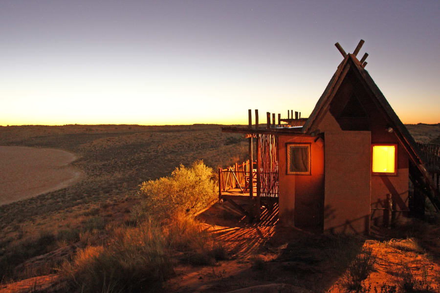Xaus Lodge Kgalagadi Tranfrontier Park  South Africa undefined