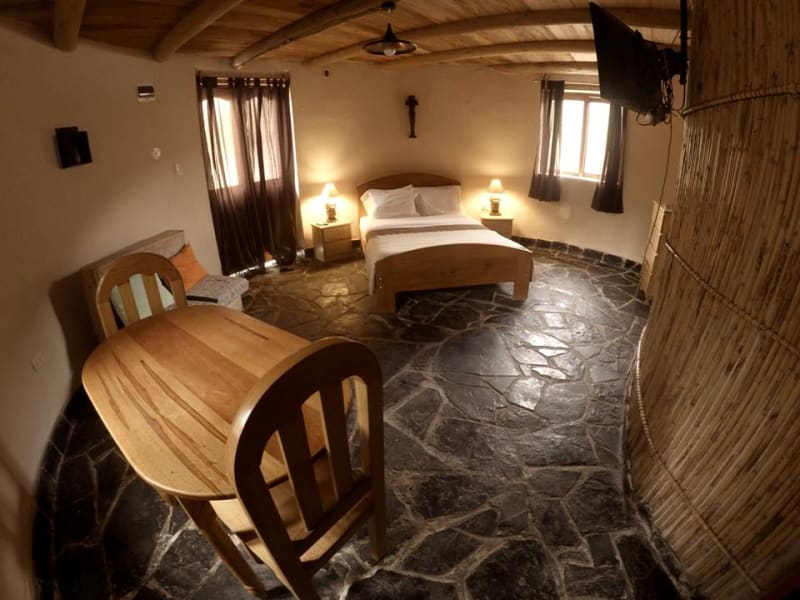 Eko Kuelap Lodge and Tours Nuevo Tingo Peru 1st Floor room in Grand Choza