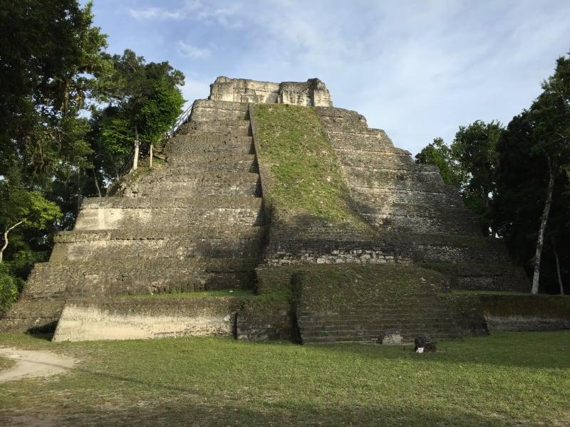 Lokal Adventures Immersive Guatemalan Culture and Nature Adventure Antigua to Peten Guatemala A small pyramid at Yaxha