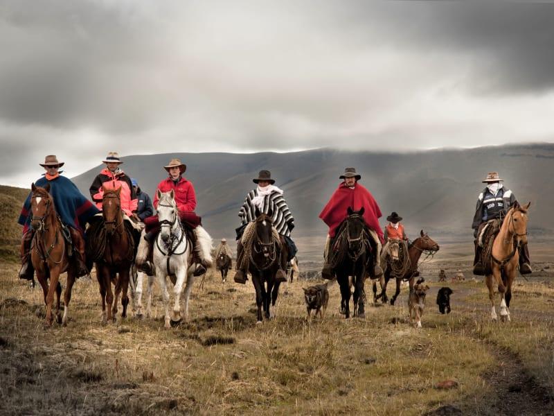 Tierra del Volcan Chagras Way - Andean Cowboy Adventure Quito Ecuador undefined