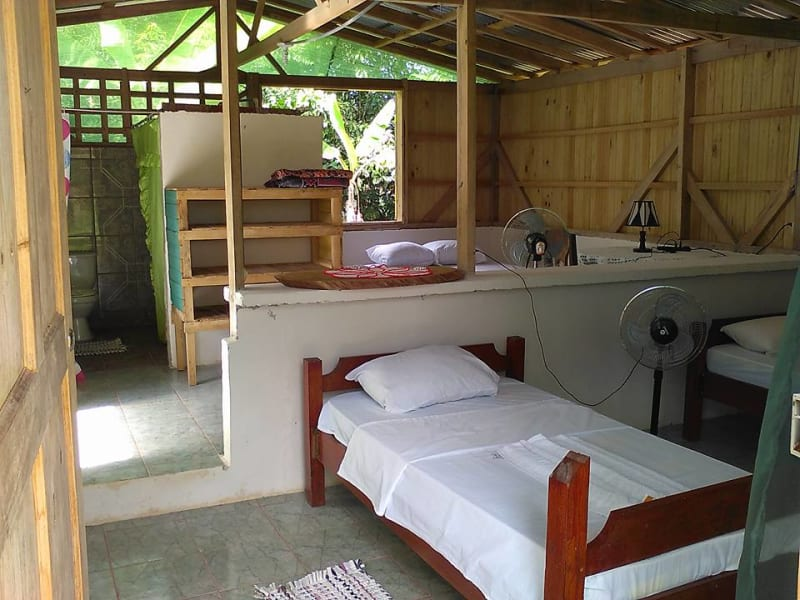 Lokal Adventures Jungle Yoga Adventure Los Planes Costa Rica Accommodations at Rancho Verde, where we will be spending one night
