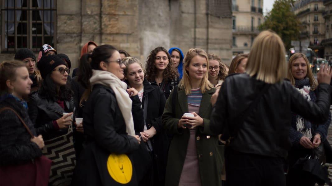Women of Paris The Women of Paris Essential Walk Paris  France undefined