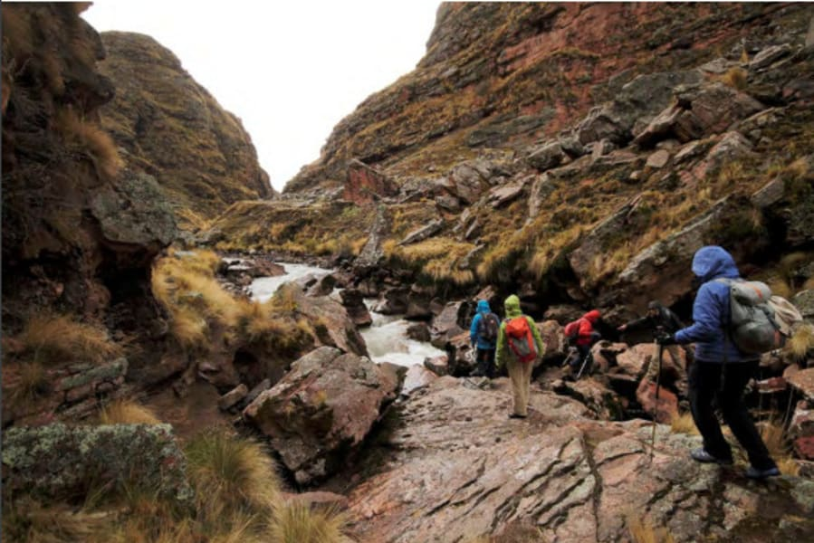 Andean Lodges Lodge to Lodge Trek to Palomani Pass Cusco to Chillca Peru undefined