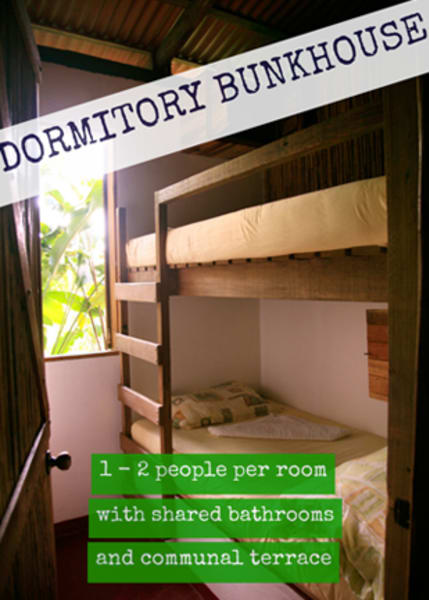 Rancho Margot Bunkhouse Experience at Rancho Margot El Castillo Costa Rica undefined