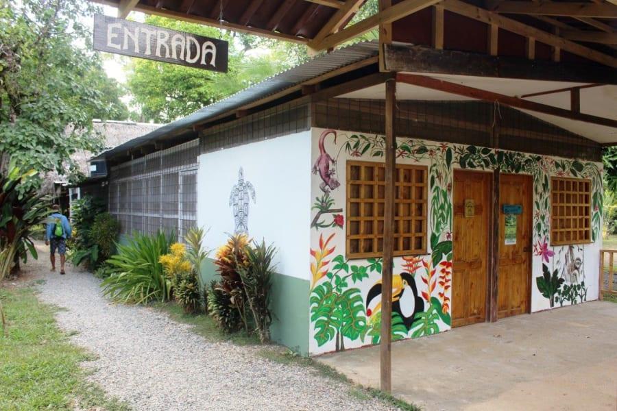 Drake Bay Backpackers Hostel in Quiet Village of El Progreso  San Jose Costa Rica Hostel Entrance