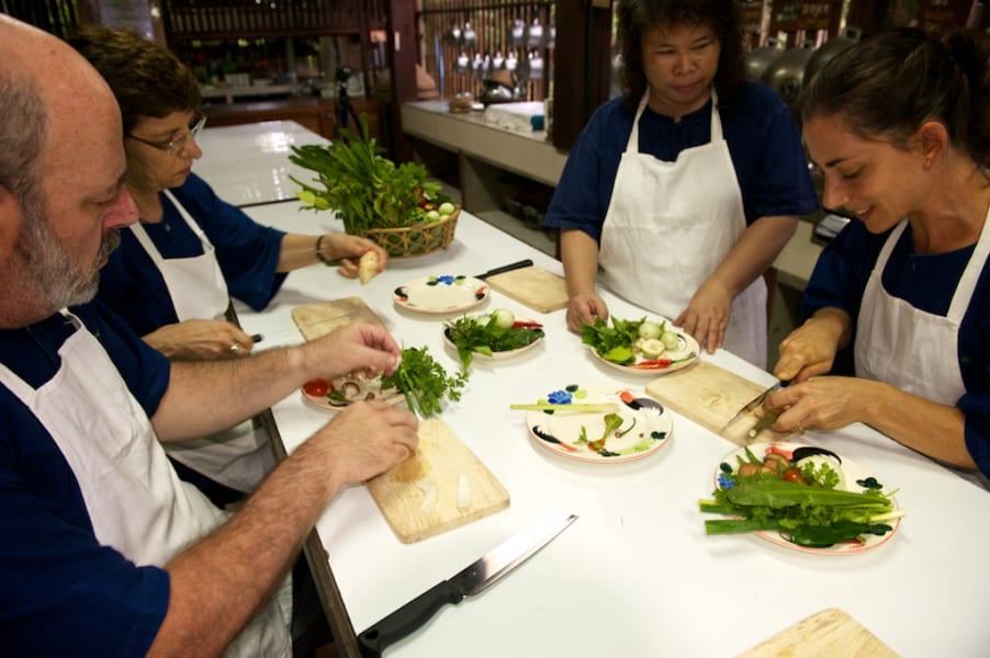Lisu Lodge Lisu Lodge and Khum Lanna Trekking Chiang Mai Thailand Thai cooking class