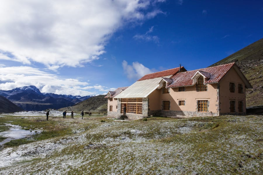 Andean Lodges Trek Lodge-to-Lodge to Apu Ausangate and Rainbow Mountain Cusco Peru undefined