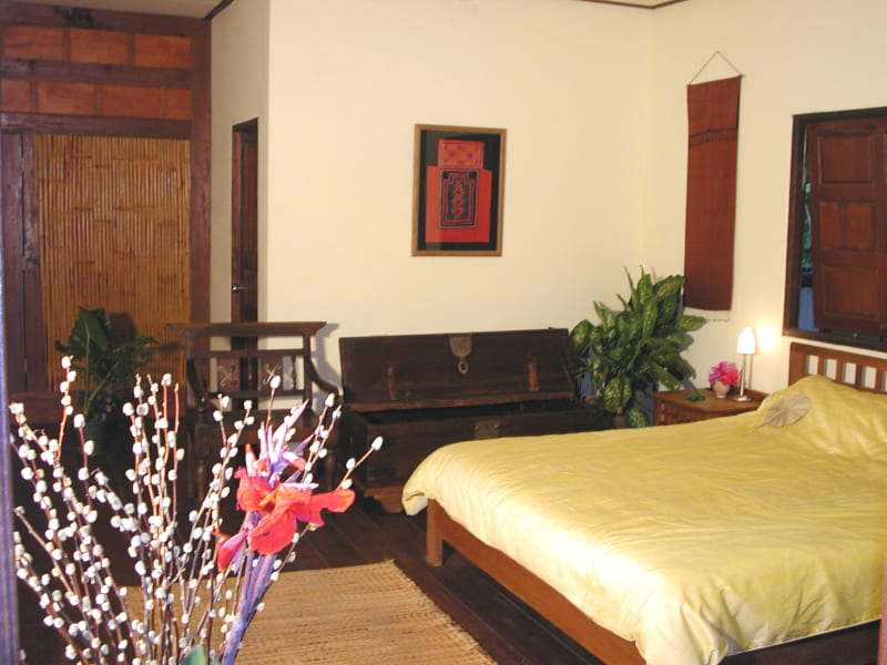 Gecko Villa Private Villa in the Rice Paddies Udon Thani Thailand One of the 3 bedrooms