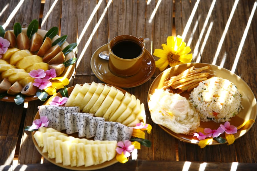 Lisu Lodge Lisu Lodge Trekking and Hill Tribe Village Adventure Chiang Mai Thailand Delicious local breakfast