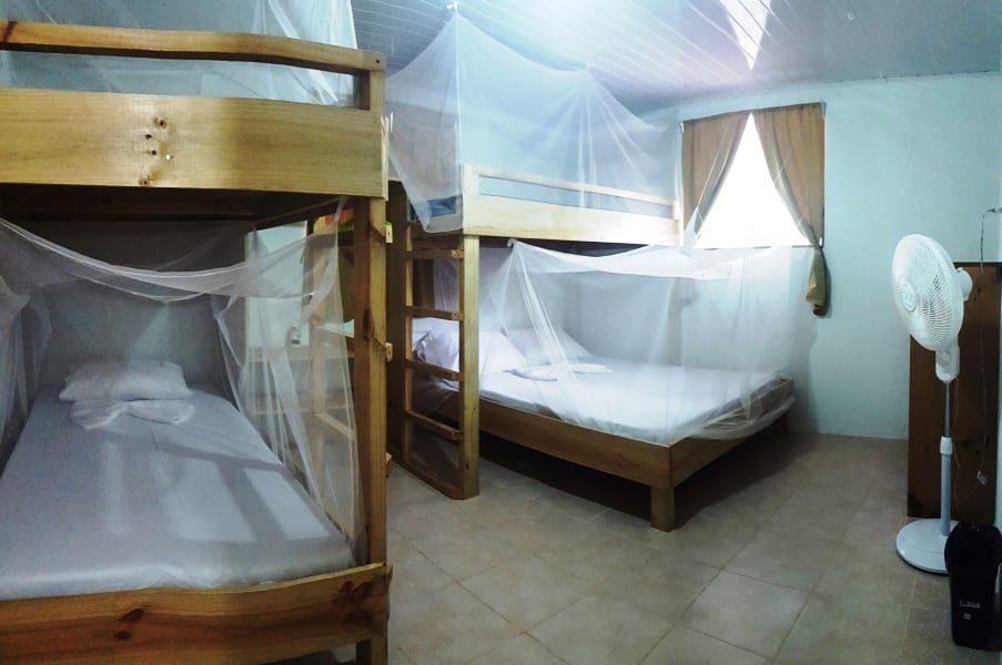 Drake Bay Backpackers Hostel in Quiet Village of El Progreso  San Jose Costa Rica Cabins with Ensuite