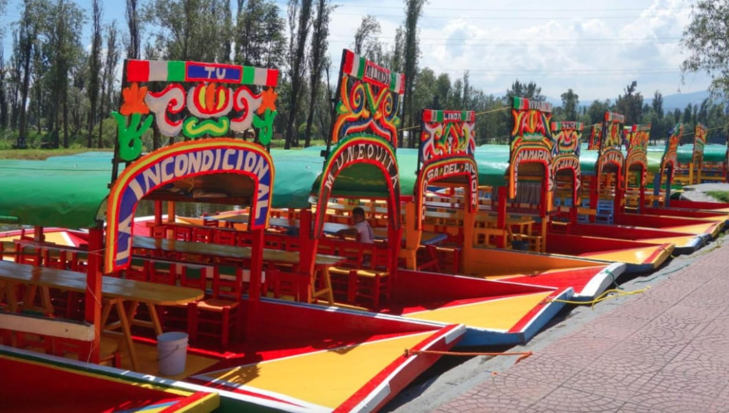 De la Chinampa Xochimilco Floating Gardens, Canals and Local Food Mexico City Mexico undefined