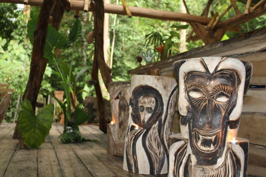 Danta Corcovado Lodge Danta Lodge Rainforest Bungalow La Palma Costa Rica Grab a seat!