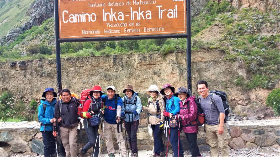 TreXperience Peru Trek the Inca Trail to Machu Picchu  Cusco Peru undefined