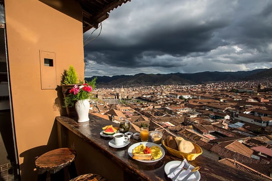 Hostal Wara Wara Cusco Cusco Peru Amazing views