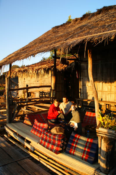 Lisu Lodge Lisu Lodge Trekking and Hill Tribe Village Adventure Chiang Mai Thailand Peace and quiet at the Lahu Outpost
