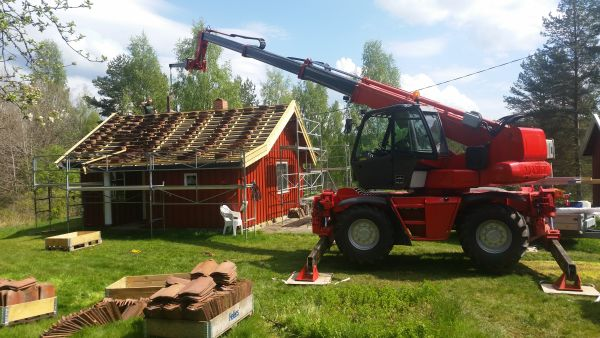 Manitou 1650 MRT Rundtom svingende Teleskop-truck