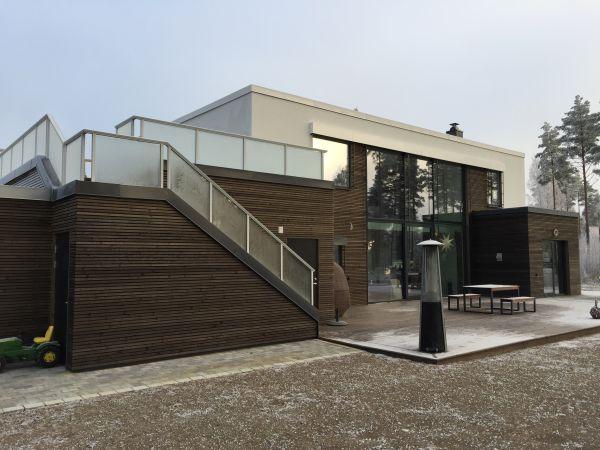 Arkitekttegnet bolig, Mosebyneset.