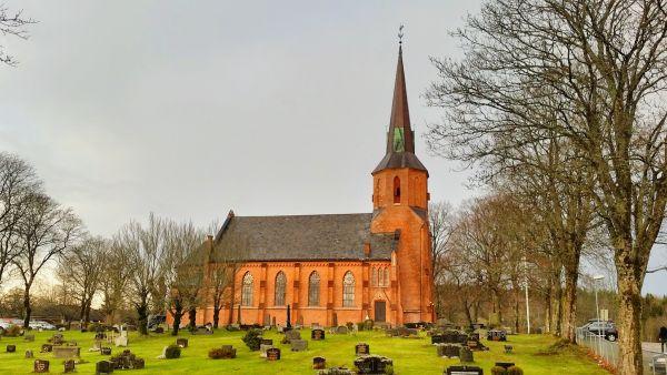 Vestby kirke red. malermester Studsrud
