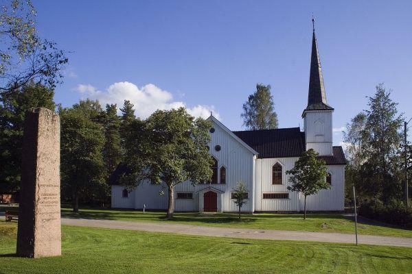 Båstad kirke. Foto: Thore Bakk