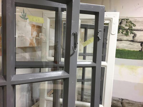 Rygge museum vinduer restaurering