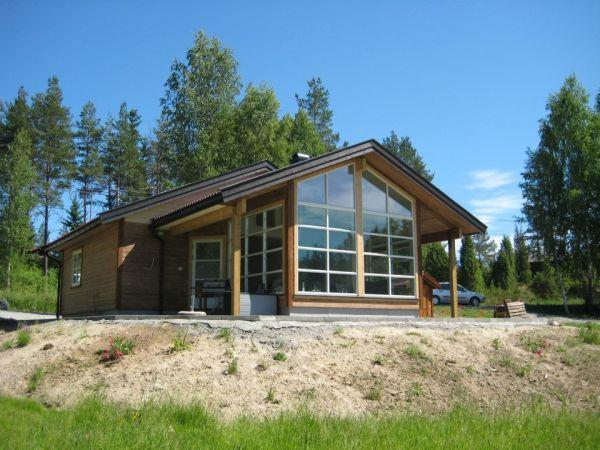Hytte bygget av J. Westlie & Sønner AS.