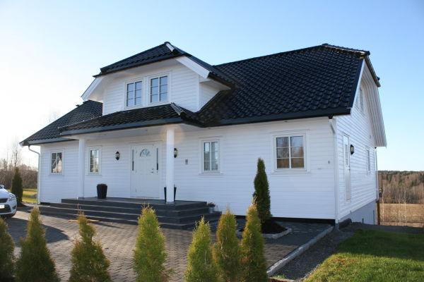 Kundetilpasset Mesterhus Kaneborg bygget i Eidsberg.