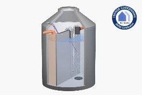 KLARO CLASSIC er renseanlegget fra KLARO med betongbeholder.