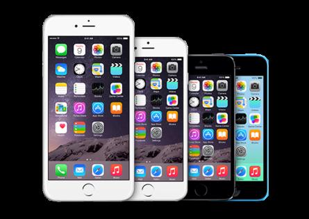 Bilde av mobiltelefoner for illustrasjon