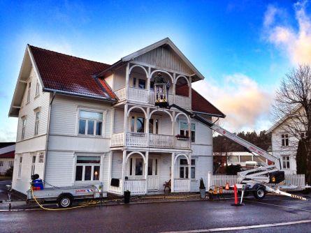Studsrud vasking av fasade Storgata Ørje