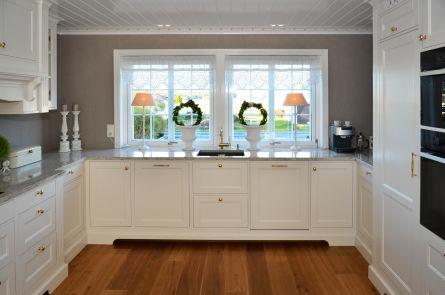 Kjøkken heltre - innenforliggende fronter