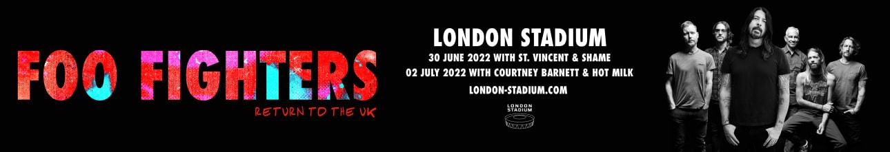 Foo Fighters at London Stadium 2022