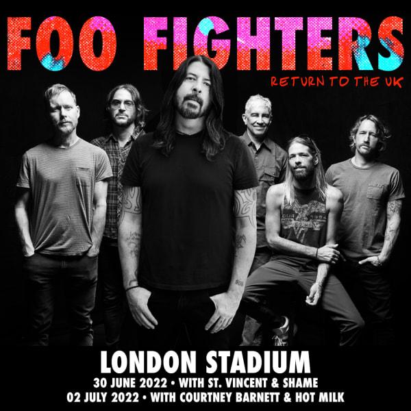 Foo Fighters London Stadium.