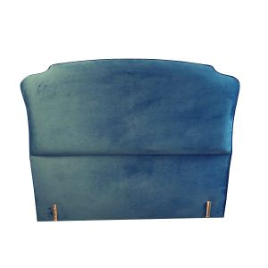 Colex and Fowler Velvet King Size Headboard - London Headboards