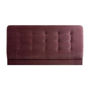 Affordable Buttoned Headboard Made of Macro Suede by London Headboards.