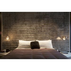 Horizontal Upholstered Wall Panels - London Headboards Battersea