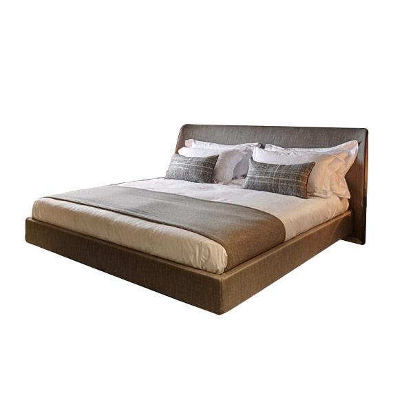 King Size Sleight Bed With Headboard - London Headboards Battersea