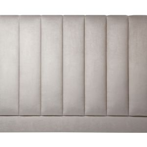 Sand Color Leather Headboard