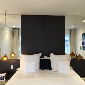 Modern Wall Headboard - mirrored headboards collection