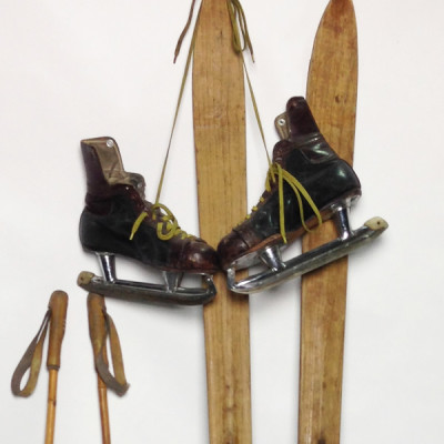 Vintage Sporting Equipment