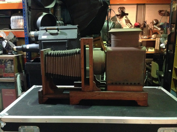 2: Vintage plate camera / projector
