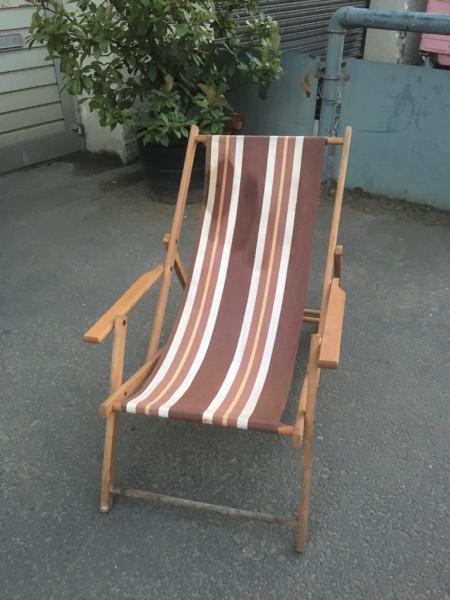 1: Vintage Deckchairs - QTY 20