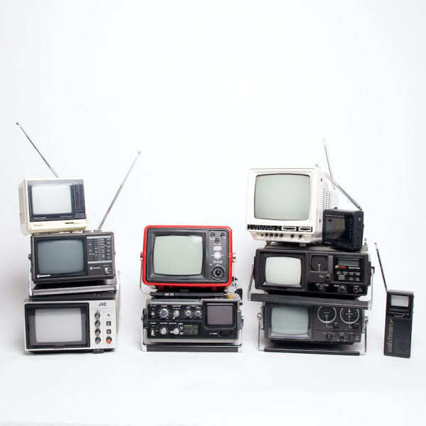 4: Non practical mini portable Realistic Portavision-5 TV