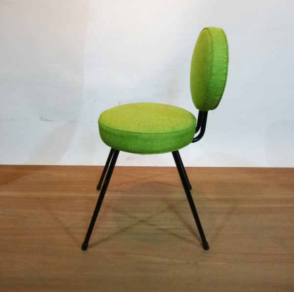 4: Lime Green 1960's Retro Chair